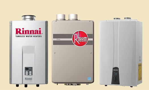 Rent to own Tankless water heater